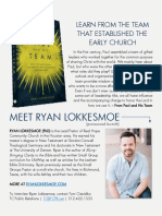 """Paul and His Team"" Book  Media Kit)"