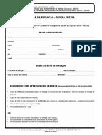 Recurso de multas - Defesa Da Autuacao Defesa Previa