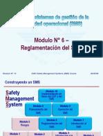 OACI SMS M06 – Reglamentación