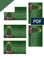Cartão Natal Jose Carlos
