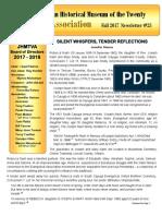 2017 25 newsletter fall