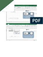 Atajos Excel 2016