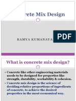 10. Concrete Mix Design