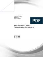 IBM integration Designer hellow world part2