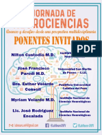 PONENTES DEL EVENTO DE NEUROCIENCIAS