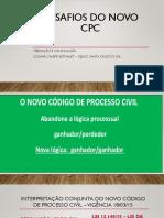 Desafios dO novo cpc - dra. Josiane.pptx