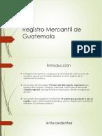Diapositiva Exposicion Registro Mercantil