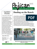 Spring 2006 Pelican Newsletter, Florida Sierra Club