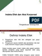 10.b. Indeks Efek Dan Aksi Korporasi