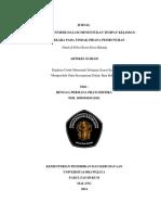 35371 ID Upaya Penyidik Dalam Menentukan Tempat Kejadian Perkara Pada Tindak Pidana Pembu