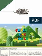 Super Geny World, Les Partitions (de Stéphane Grare)