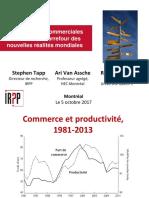 Les Politiques Commerciales Du Canada Au Carrefour Des Nouvelles Réalités Mondiales