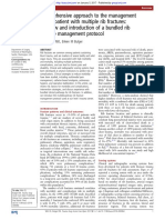 Comprehensive Approach to the Management of the Pt With Multiple Rib Fractures