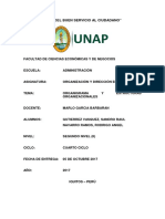 Organigrama y Estructuras Organizacionales