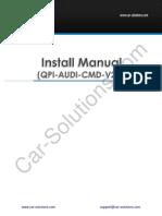 Audi MMI3G Video Interface Manual 2.0