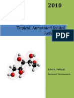 Xylitol_Dr Peldyak Reference List