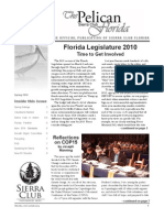 Spring 2010 Pelican Newsletter, Florida Sierra Club