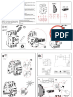 WEG Instrucoes de Instalacao Installation Instructions Instrucciones de Instalacion Acbs Acbf