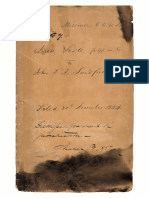 Scott v Sandford, ORDER Handwritten by Chief Justice Taney (30 Dec 1857)