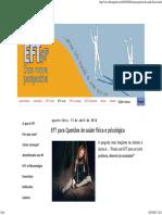 EFT São Paulo_ EFT Para Questões de Saúde Física e Psicológica