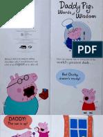 Daddy Pig 39 s Words of Wisdom