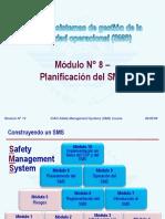 OACI SMS M08 – Planificación