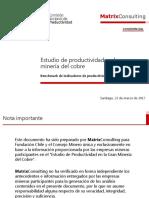 Benchmark Productividad Chile 2016