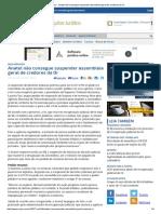 Anatel Não Consegue Suspender Assembleia Geral de Credores Da Oi