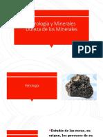 Petrología y Minerales,Dureza de Los Minerales