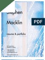 Stephen Macklin Design Portfolio