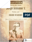MARIPOSA. Danza. Jorge Rubiano Trimiño. Transc. para piano Gerardo Betancourt.