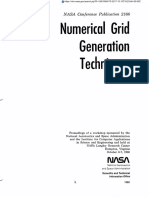 Numerical Grid Generation Techniques - NASA