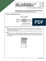 Bizhub_c3850 Intallation Guide