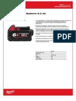 M18™ BATTERIE 6.0 AH