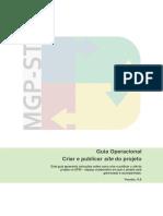 GOP - PublicarProjeto
