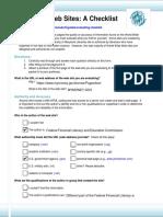 Website Evaluation ED517 Module 6