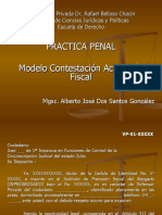 Modelo de Contestación Acusación Fiscal