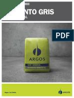 Cemento Gris Uso General