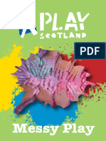 Messy Play Booklet
