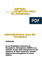 5 Anticoncepción Oral No Hormonal