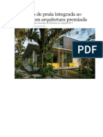 Uma Casa de Praia Integrada Ao Verde e Com Arquitetura Premiada