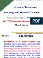Actuarial Economic Models-II