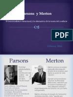 Parsons y Merton
