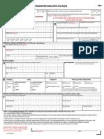 NC Voter Registration Form