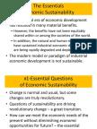 The Essential Economics of Sustainability Intro