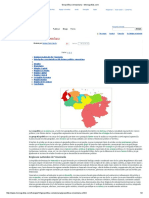 Geopolítica venezolana - Monografias