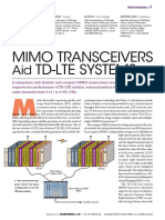 MIMO Transceivers