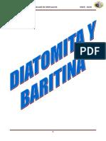 Trabajo de No Metalicos Diatomita-baritina