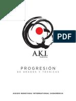Progresión AKI Sudamerica