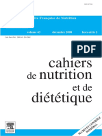 2008 Cahiers Nut Diet Sucre Controle Ponderal